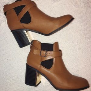 Forever 21 brown booties!